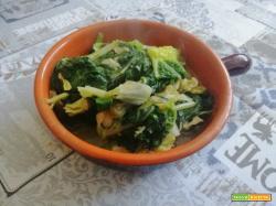 Erbette all'aglio