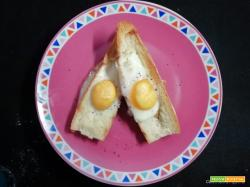 Uovo in baguette
