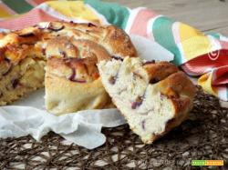Torta Angelica cipolle e formaggio