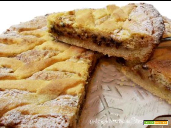 Crostata con amaretti e mascarpone