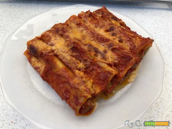 Cannelloni con il CuCo Moulinex