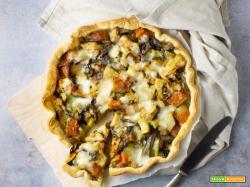 Torta Salata con le ultime Verdure Invernali e benvenuta Primavera!
