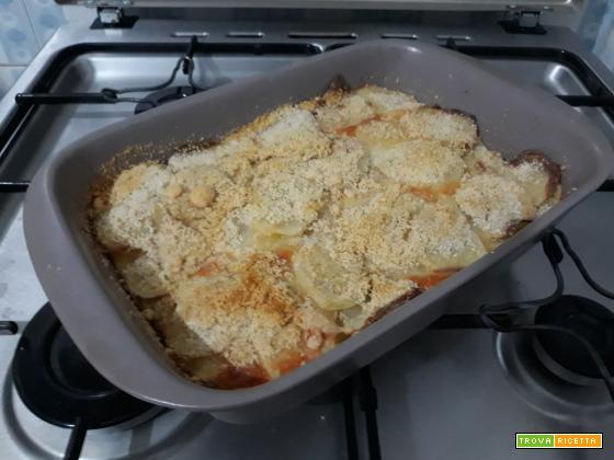 Tortino di patate a fette : Ricetta veloce