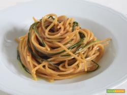 Spaghetti quadrati agli agretti