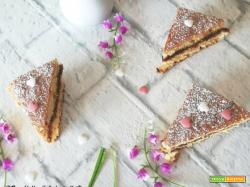 Crostata morbida allo yogurt con marmellata di mirtilli