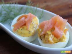 Uova al salmone