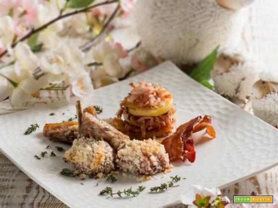 Agnello scalzato in crosta di noci : la tradizione a tavola