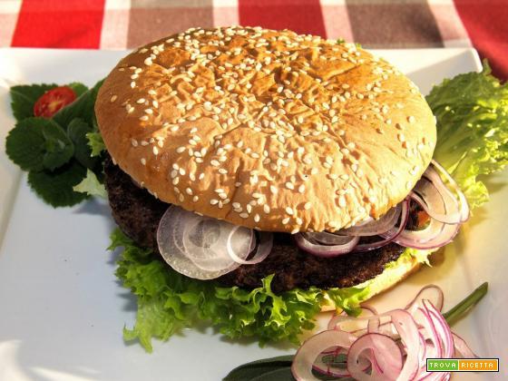 Hamburger gustoso USA fatto in casa
