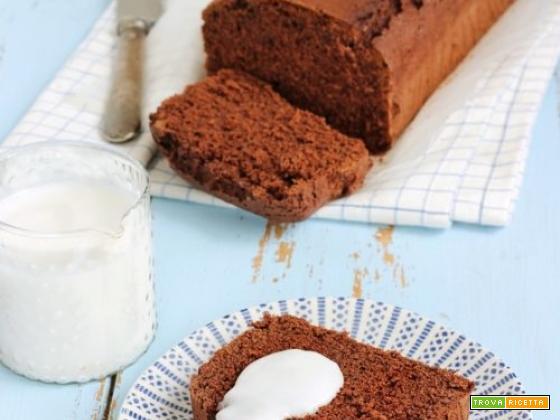 Cake senza burro con salsa al cocco