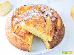 Torta di mele senza grassi allo yogurt greco 0%