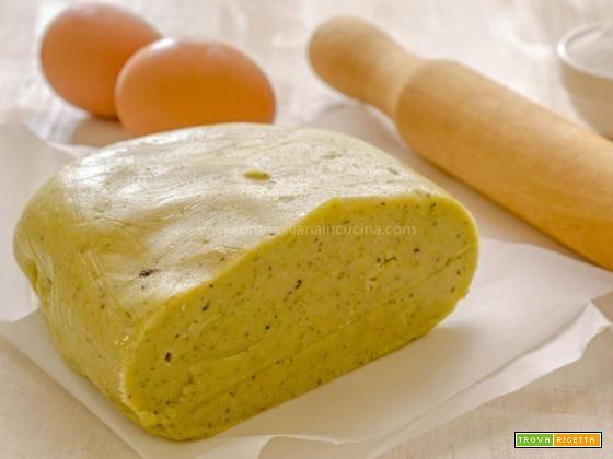 Pasta frolla al pistacchio di Leonardo Di Carlo