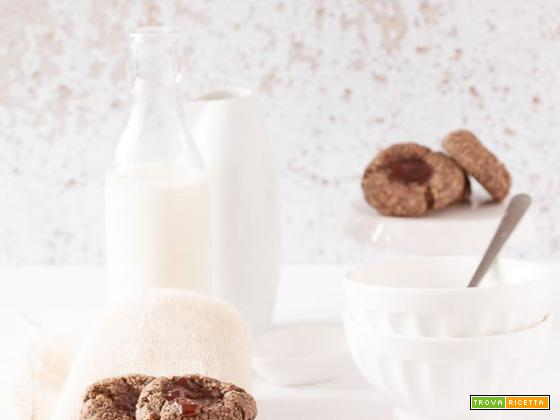 Biscotti al grano saraceno e farina di mandorle