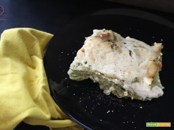 Lasagne verdi al pesto di fave, idea per il pranzo di Pasqua
