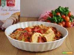 Crostino Rustico di Pane Saraceno Integrale senza glutine VIALL