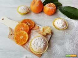 Muffin al mandarino senza uova