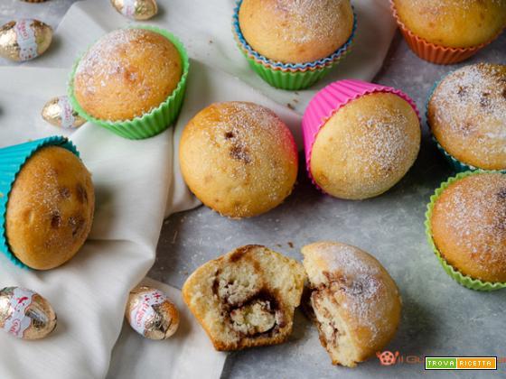 Muffin con ovetti di cioccolato