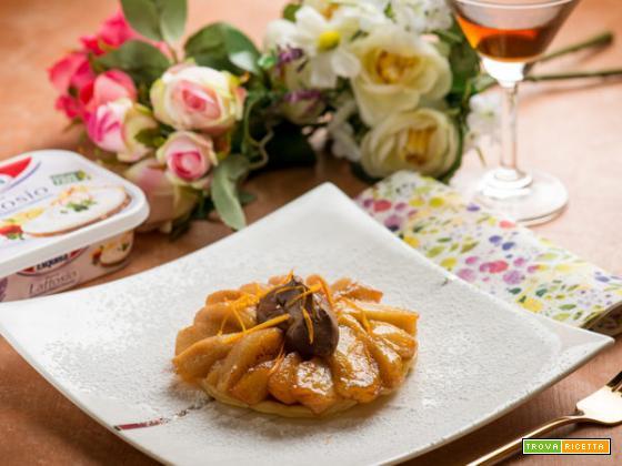 Tatin di pere con crema di formaggio : che dolce delizia!