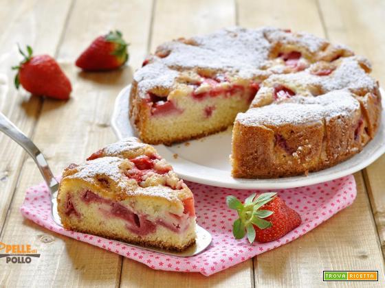 Torta di fragole semplicissima