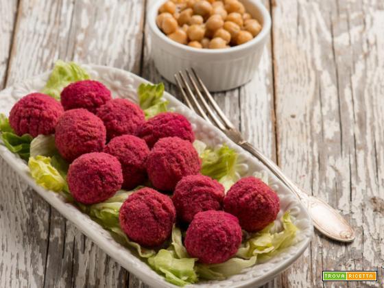Polpette di barbabietole e ceci: un piatto vegetariano adatto a tutti!
