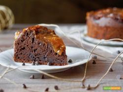 Torta Cremosa al Cioccolato e Marmellata