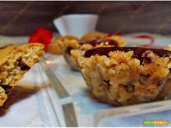 Crostatine senza cottura con cioccolato