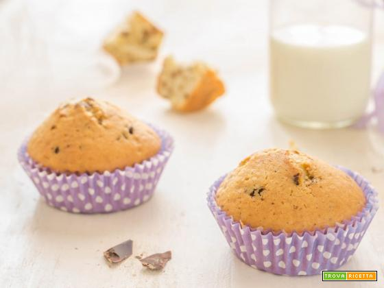 Muffins stracciatella super golosi