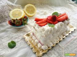 Semifreddo limone e fragole