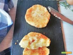 Polpette di patate farcite