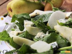 Insalata di spinaci  e altre bontà..