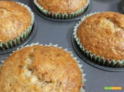 Muffin alle nocciole : Ricetta veloce