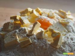 Pasta  frolla : Ricetta  base veloce