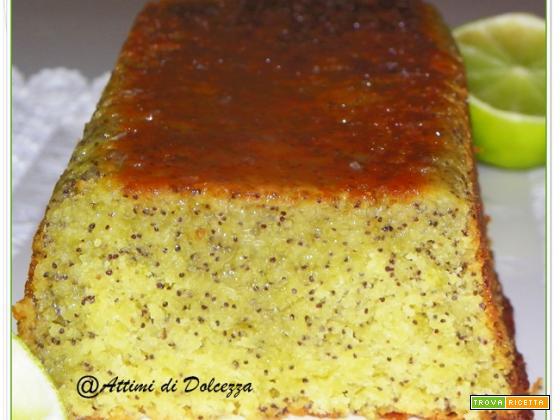 PLUM CAKE LIME E SEMI DI PAPAVERO
