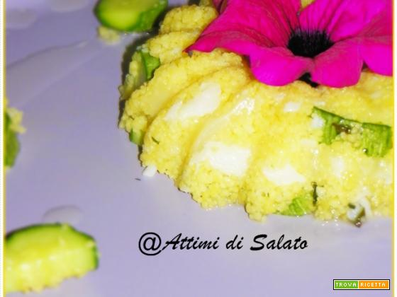 COUS COUS CON ZUCCHINE E BACCALA'