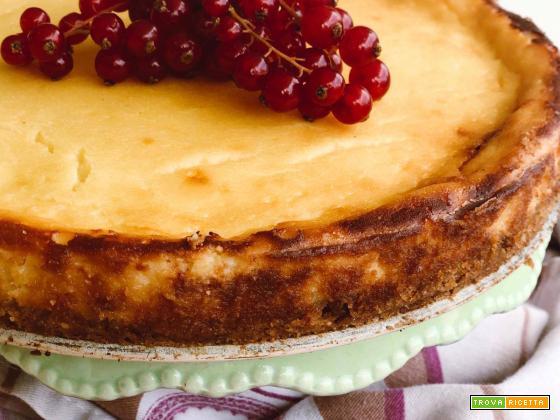 Cheesecake con ricotta di Tramonti e frutti rossi
