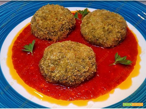 Polpette di bietola in salsa di pomodoro