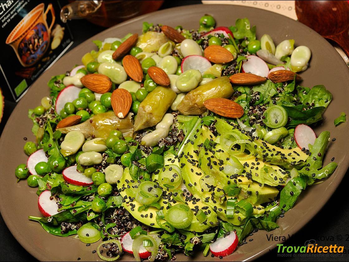Ricetta Quinoa Nera.Quinoa Nera Con Le Verdure Di Primavera Ricetta Trovaricetta Com