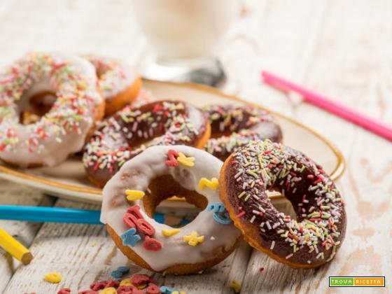 Una dolce tentazione i Donuts al forno con la ricetta di Luca Montersino!