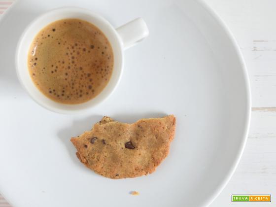 Cookies senza glutine, latte e uova