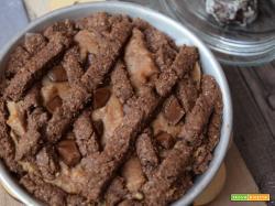 Crostata con crema d'arachidi