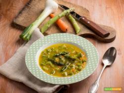 Zuppa di asparagi e carote: un primo classico e salutare