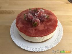 Cheesecake light alla fragole con il Companion Moulinex