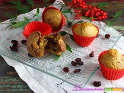 Muffin con mirtilli rossi