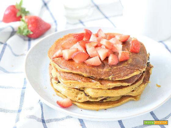 Pancake di patate dolci (o con farina di patate dolci)