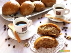 BRIOCHES VEGANE AL CAFFE' E CARDAMOMO