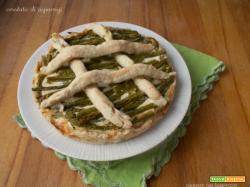 Crostata di asparagi
