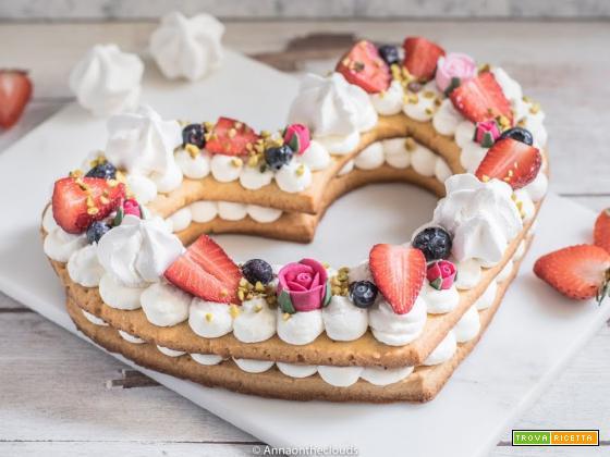 Cream tart – torta a cuore RICETTA PERFETTA
