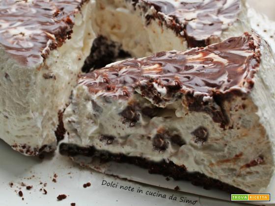 Cheesecake  con cioccolato Twix