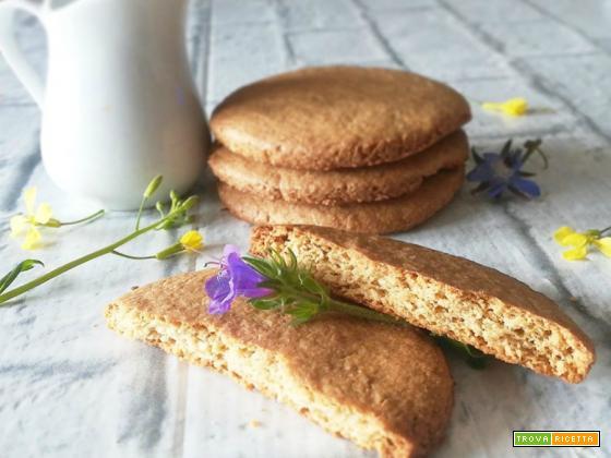 Biscotti alla farina di avena e cocco