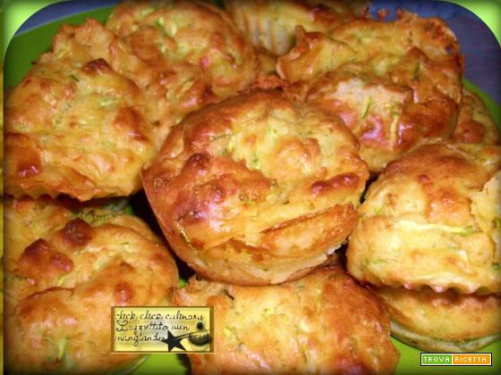 Muffin Con Piselli e Speck Un antipasto delicato
