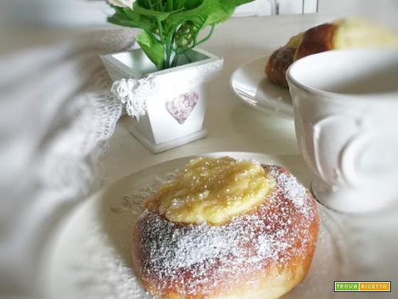 Pariserbullar - il bombolone svedese alla crema